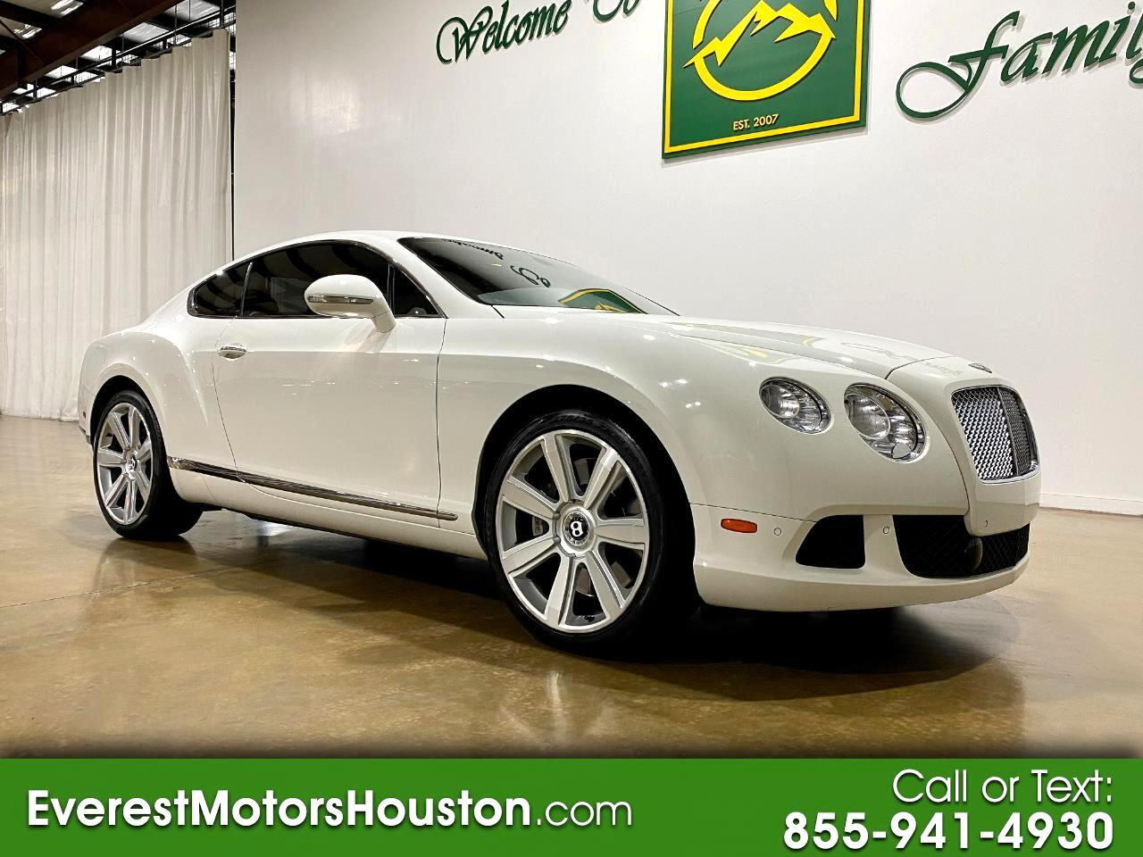 Bentley Continental GT 2dr Cpe 2012