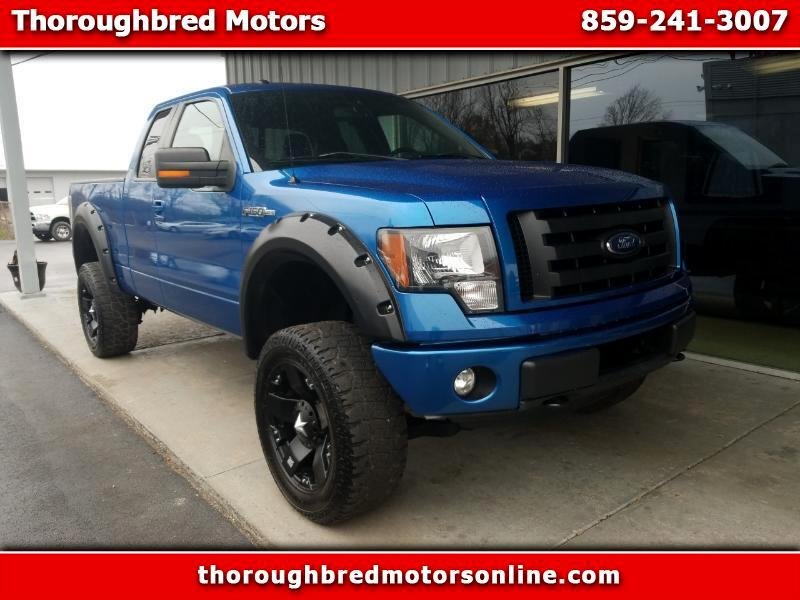2011 Ford F-150 FX4 Super Cab 4WD