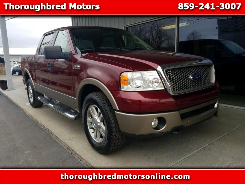 2006 Ford F-150 Lariat SuperCrew Short Box 4WD