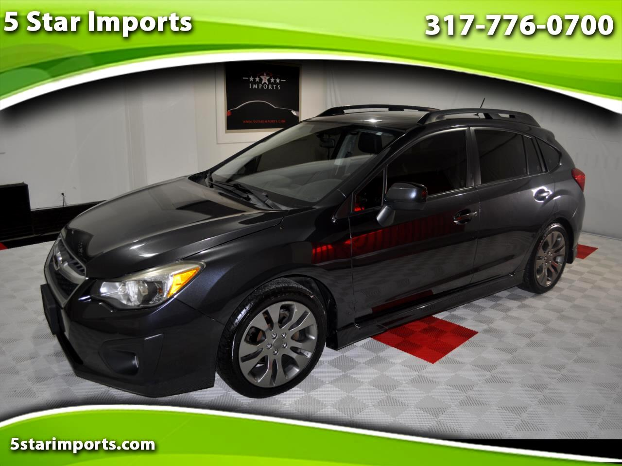 Subaru Impreza Sport 5-Door-Limited+S/R 2013