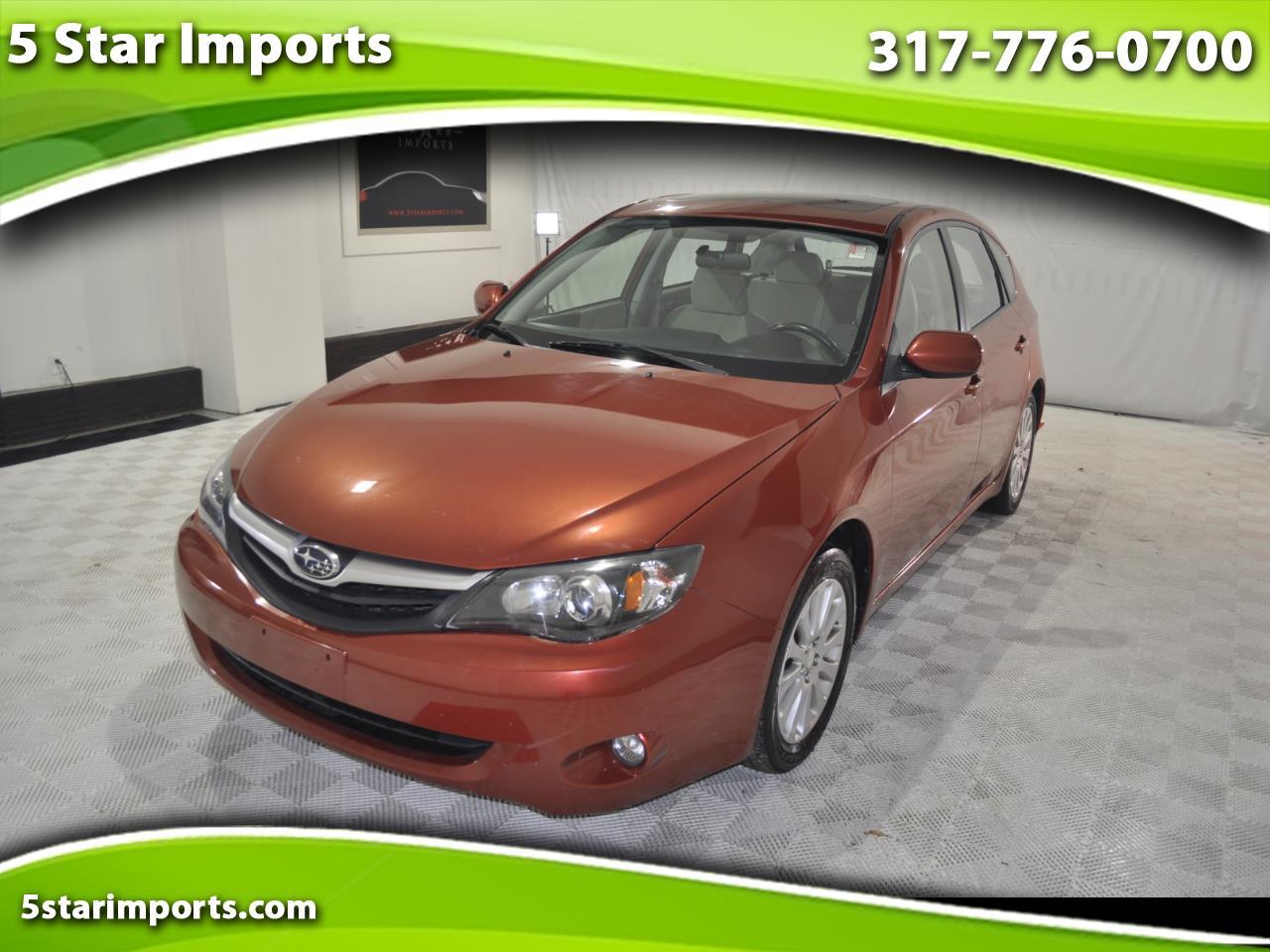 Subaru Impreza 2.5i Premium 5-Door 2010