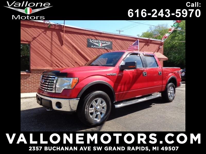 2010 Ford F-150 XLT 4WD SuperCab 6.5' Box