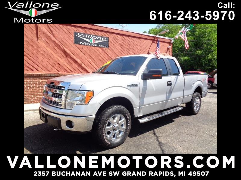 2014 Ford F-150 XLT 4WD SuperCab 6.5' Box