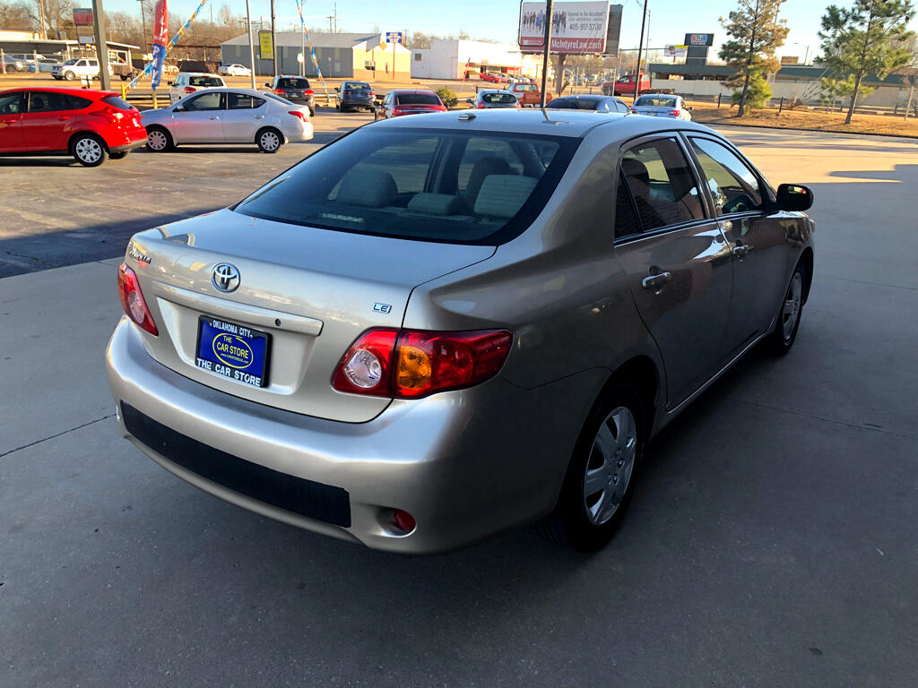 2010 Toyota Corolla 4dr Sdn Man (Natl)
