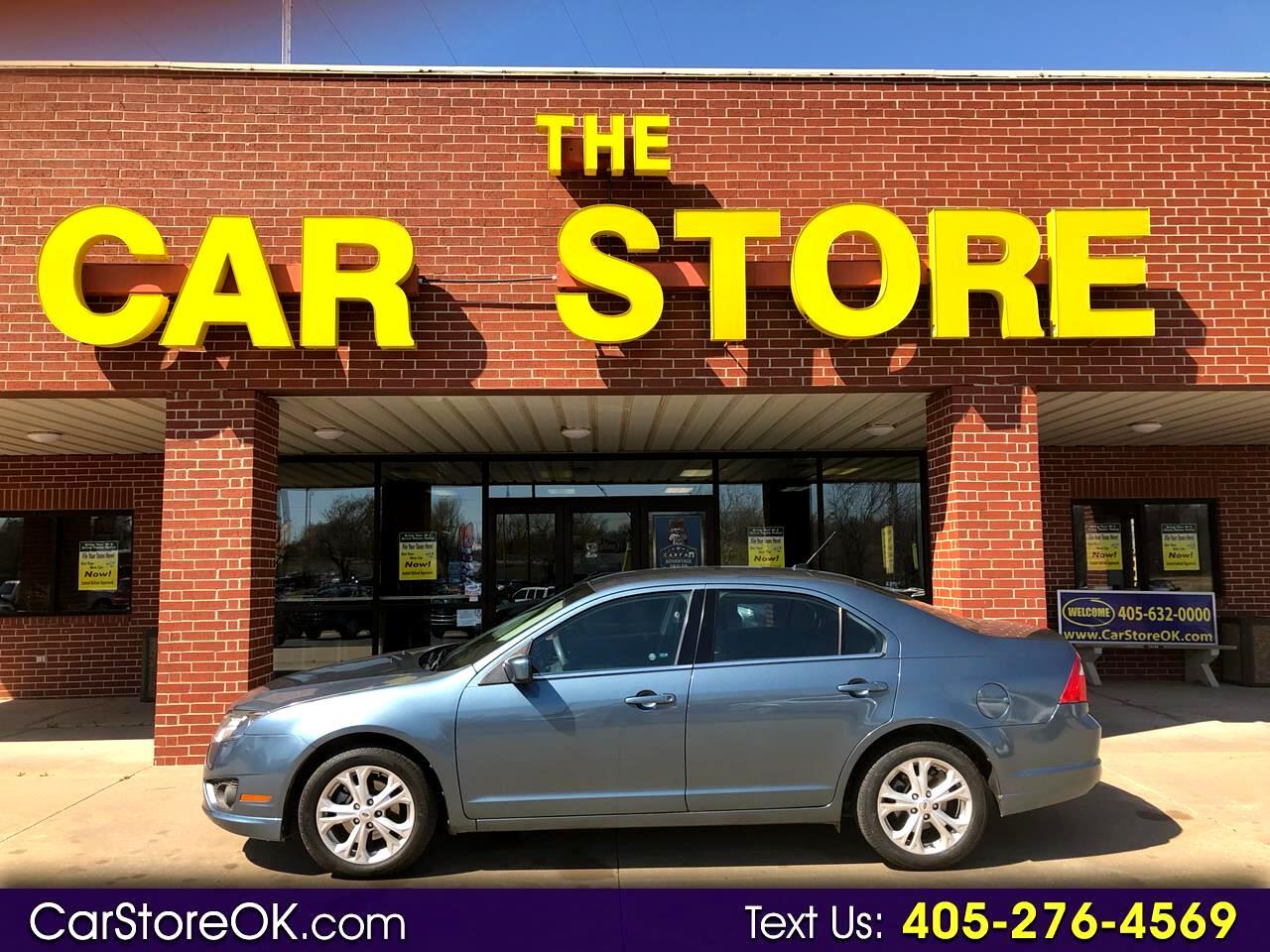 2012 Ford Fusion 4dr Sdn SE FWD
