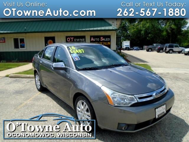 2010 Ford Focus 4dr Sdn SEL