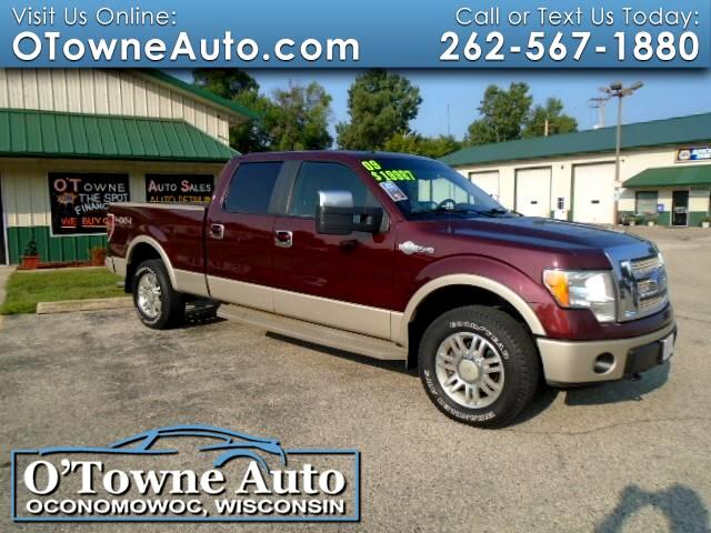 """2009 Ford F-150 4WD SuperCrew 145"""" King Ranch"""