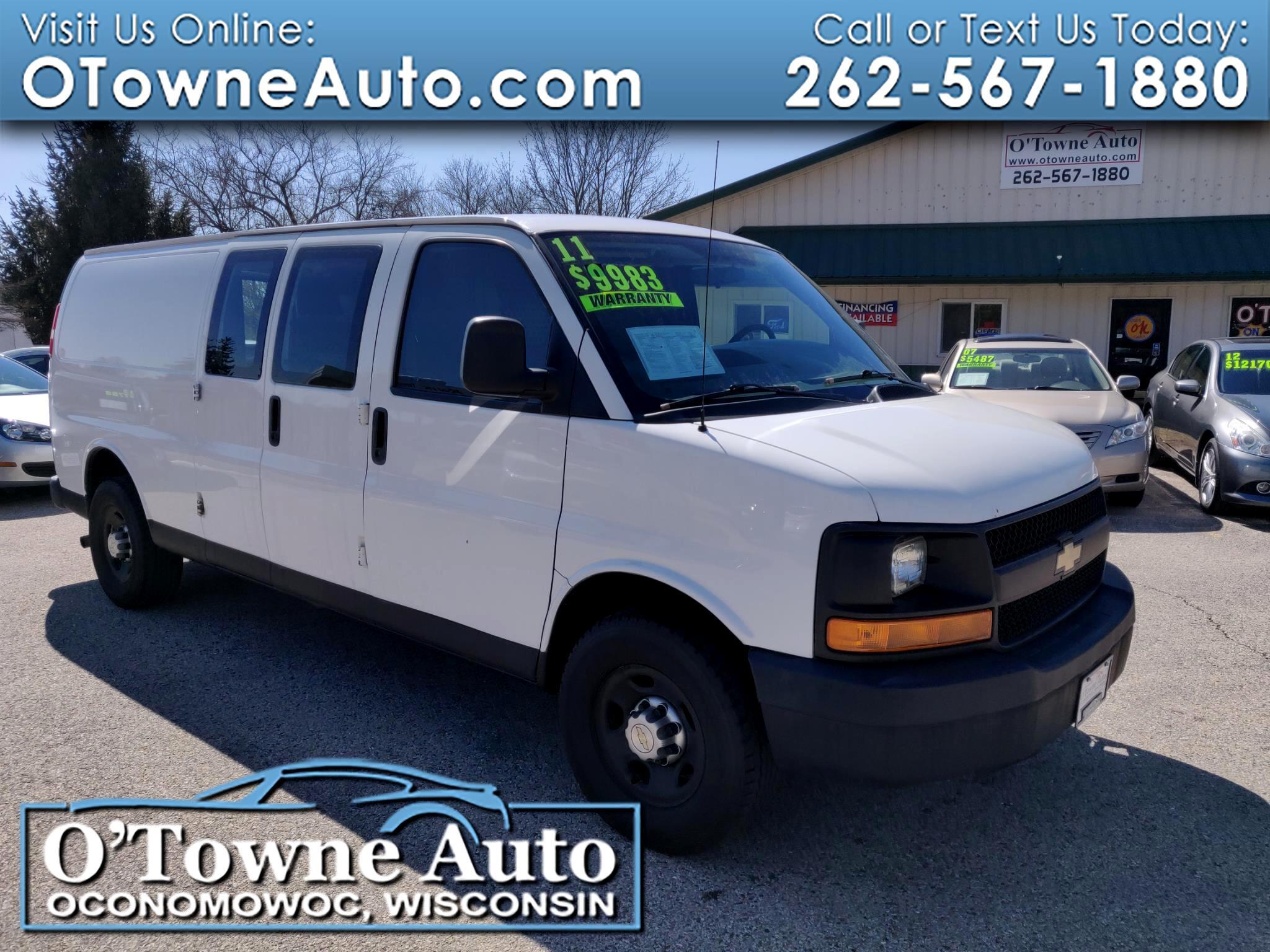 2011 Chevrolet Express Cargo Van RWD 3500 155