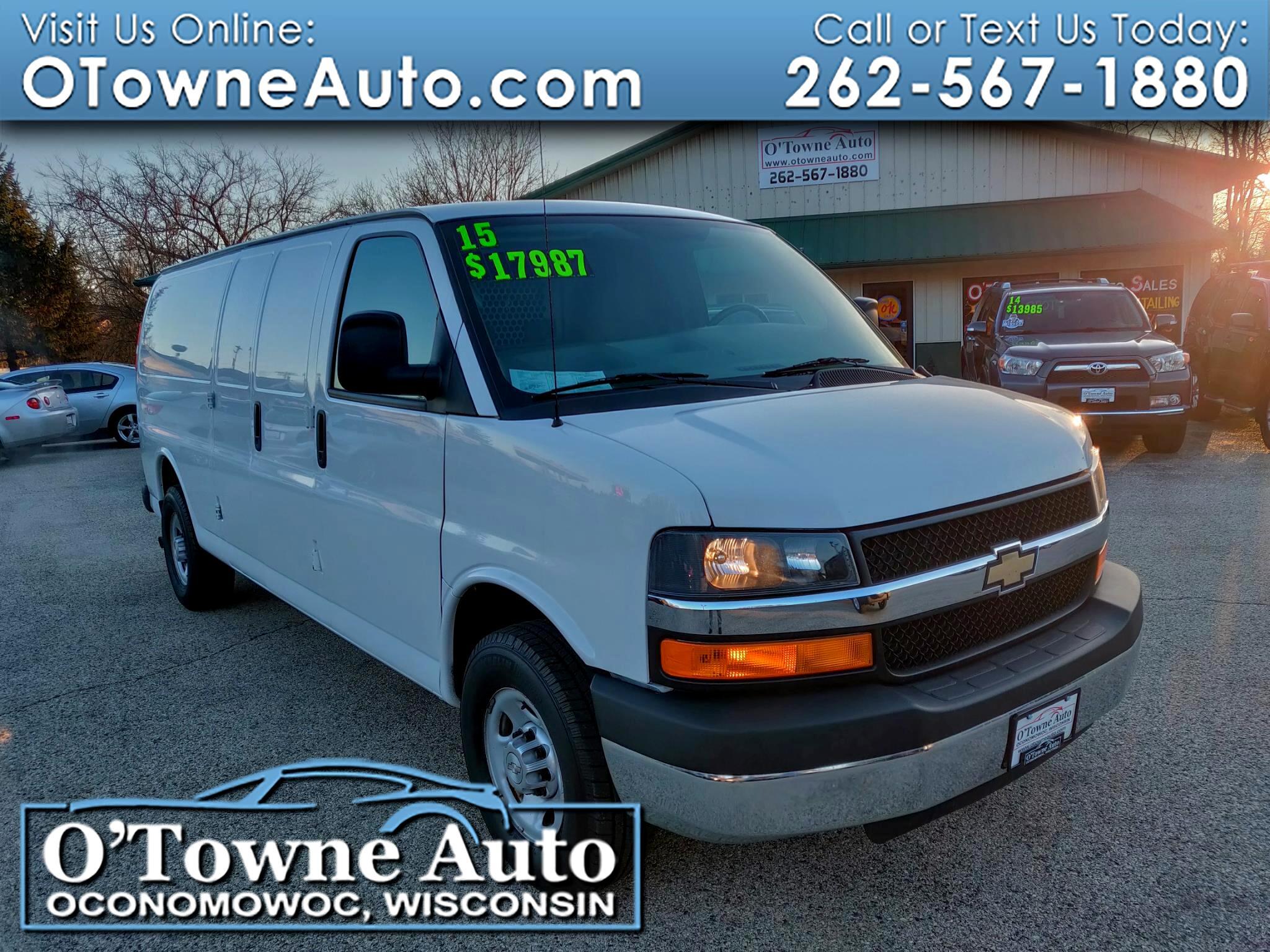 """2015 Chevrolet Express Cargo Van RWD 2500 155"""""""