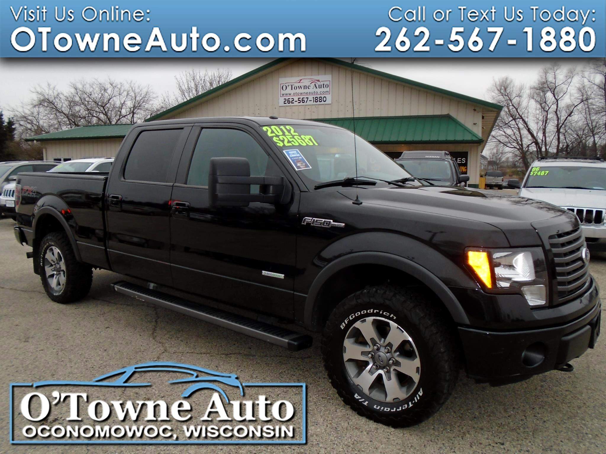 "2012 Ford F-150 4WD SuperCrew 157"" FX4"