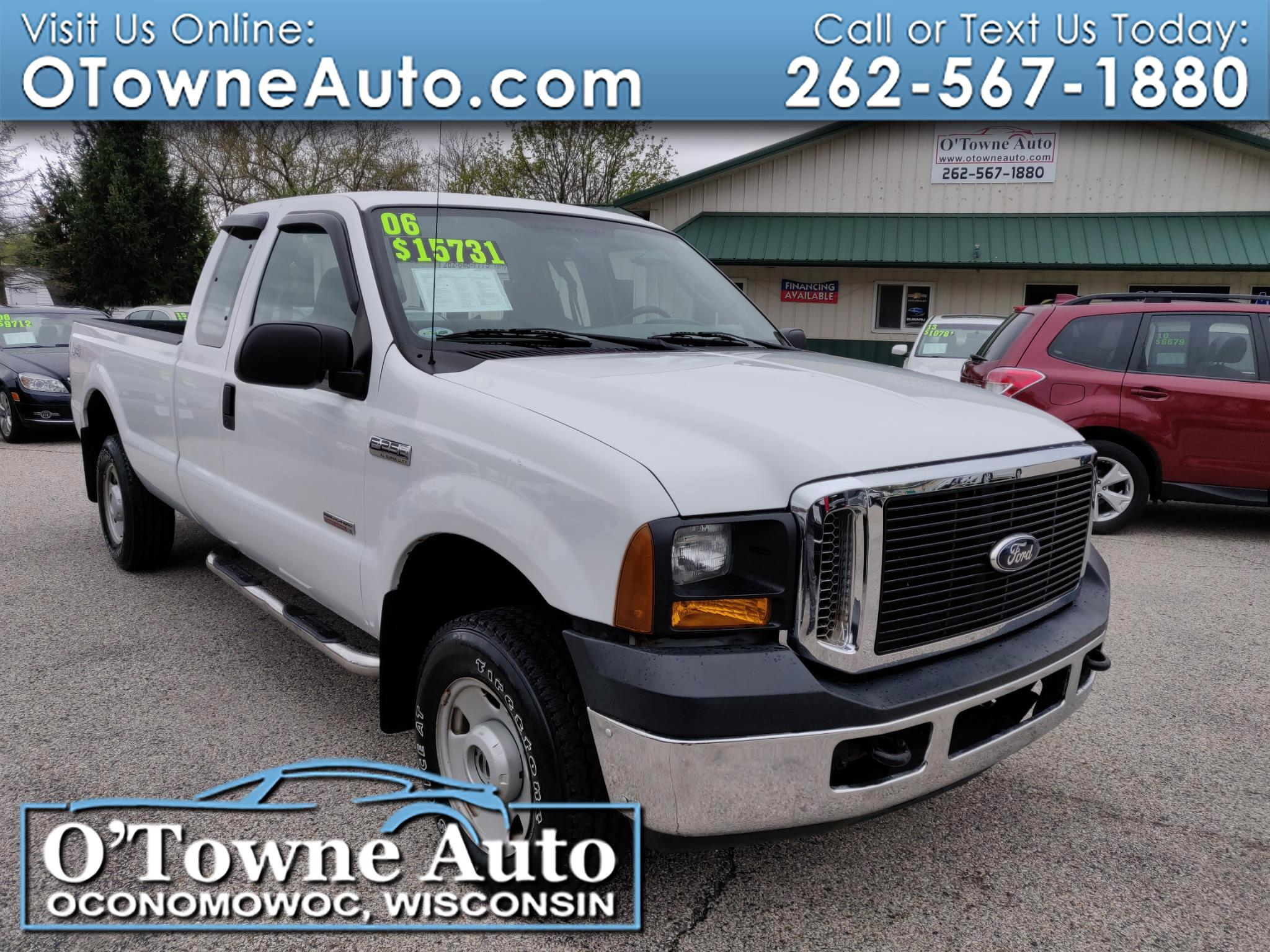 "2006 Ford Super Duty F-250 Supercab 158"" XL 4WD"