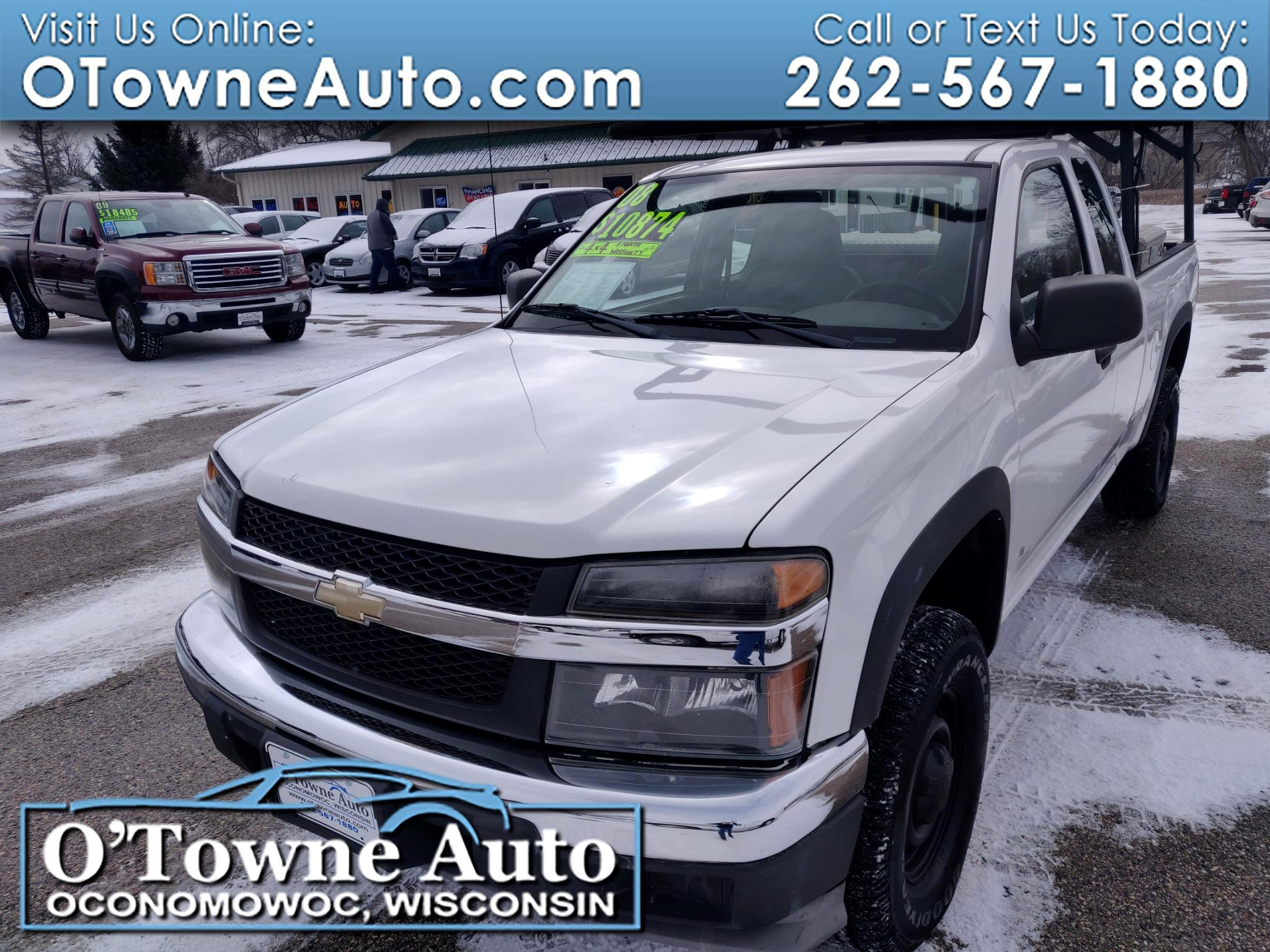 2008 Chevrolet Colorado 4WD Ext Cab 125.9