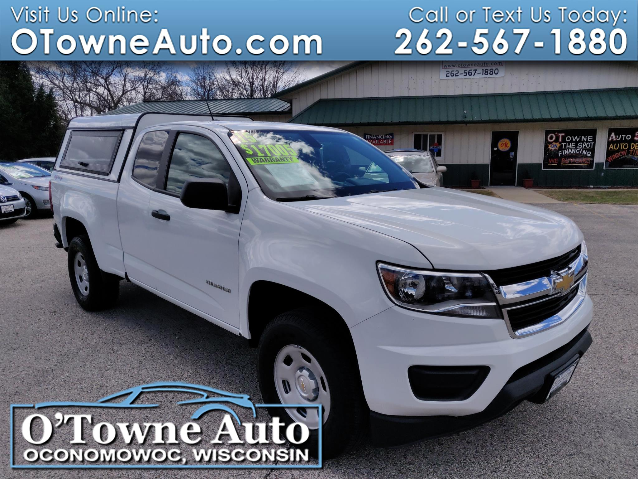 2015 Chevrolet Colorado 4WD Ext Cab 128.3