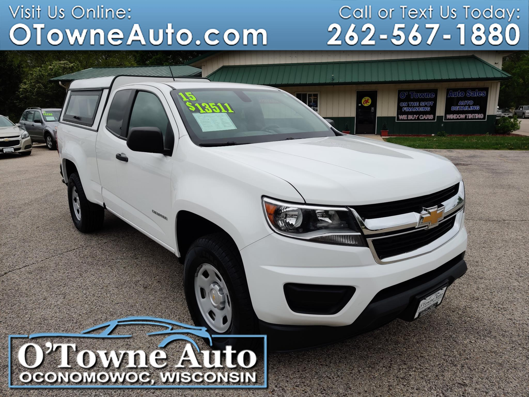 "2015 Chevrolet Colorado 2WD Ext Cab 128.3"" WT"
