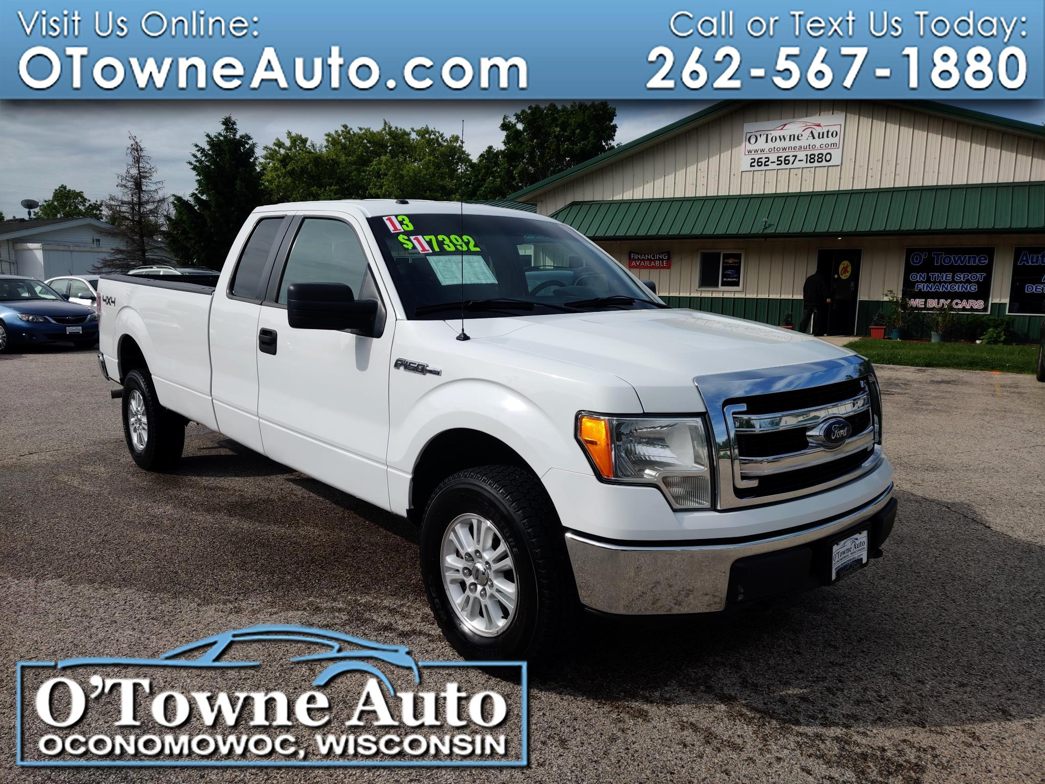 "2013 Ford F-150 4WD SuperCab 163"" XL w/HD Payload Pkg"