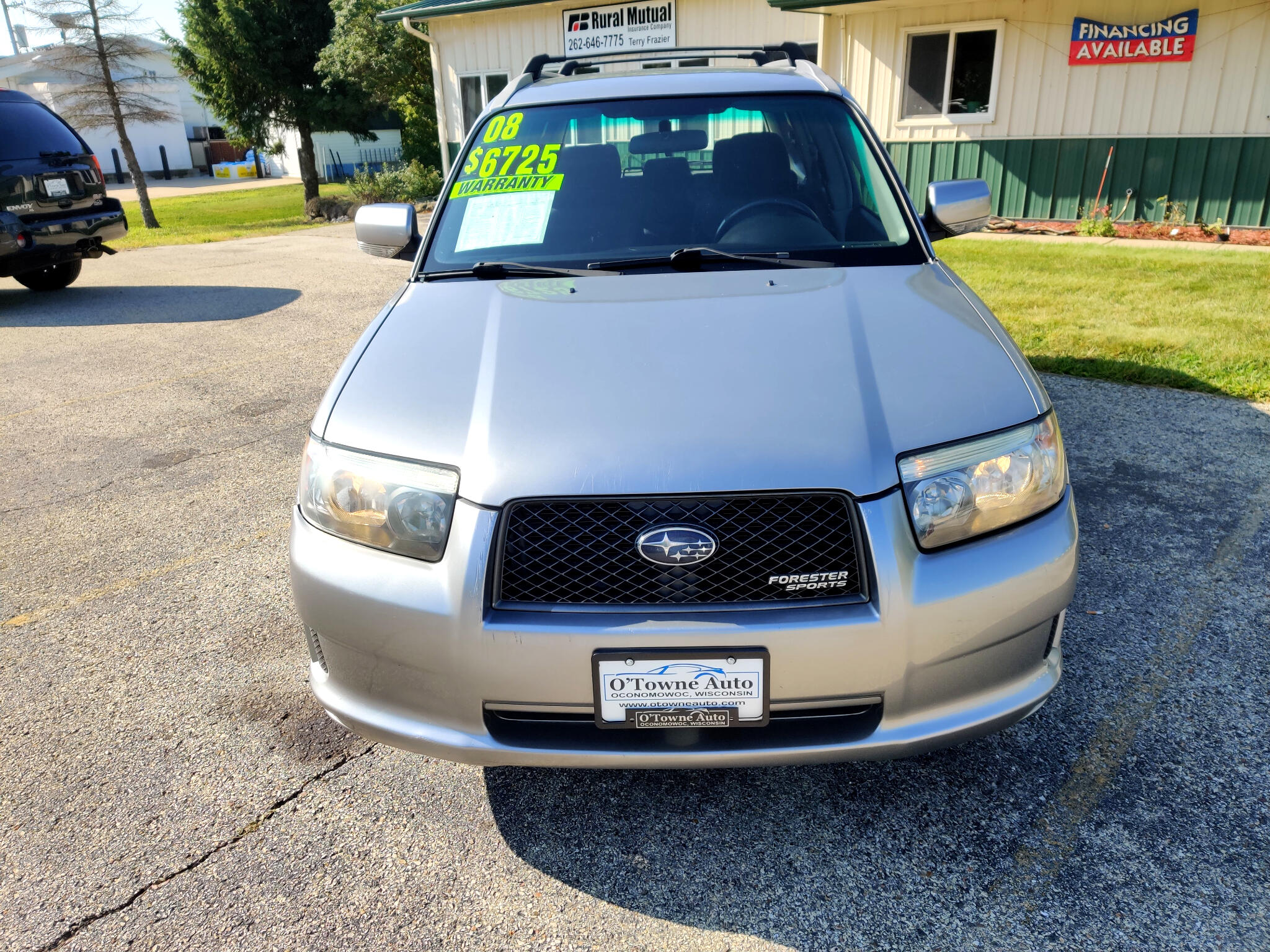 2008 Subaru Forester AWD 4dr H4 AT Sports X