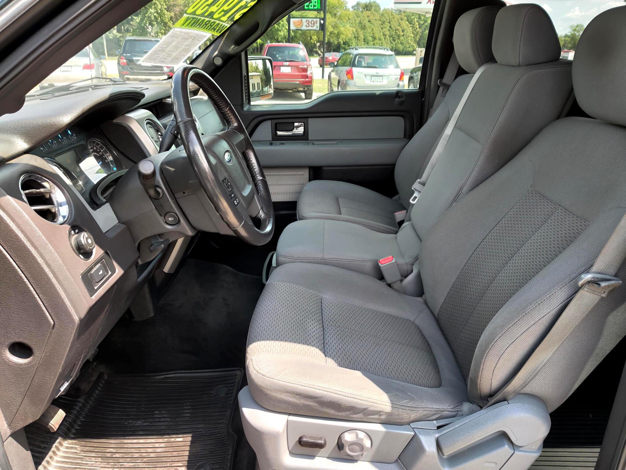2012 Ford F-150 XLT SuperCrew 6.5-ft Box 4WD