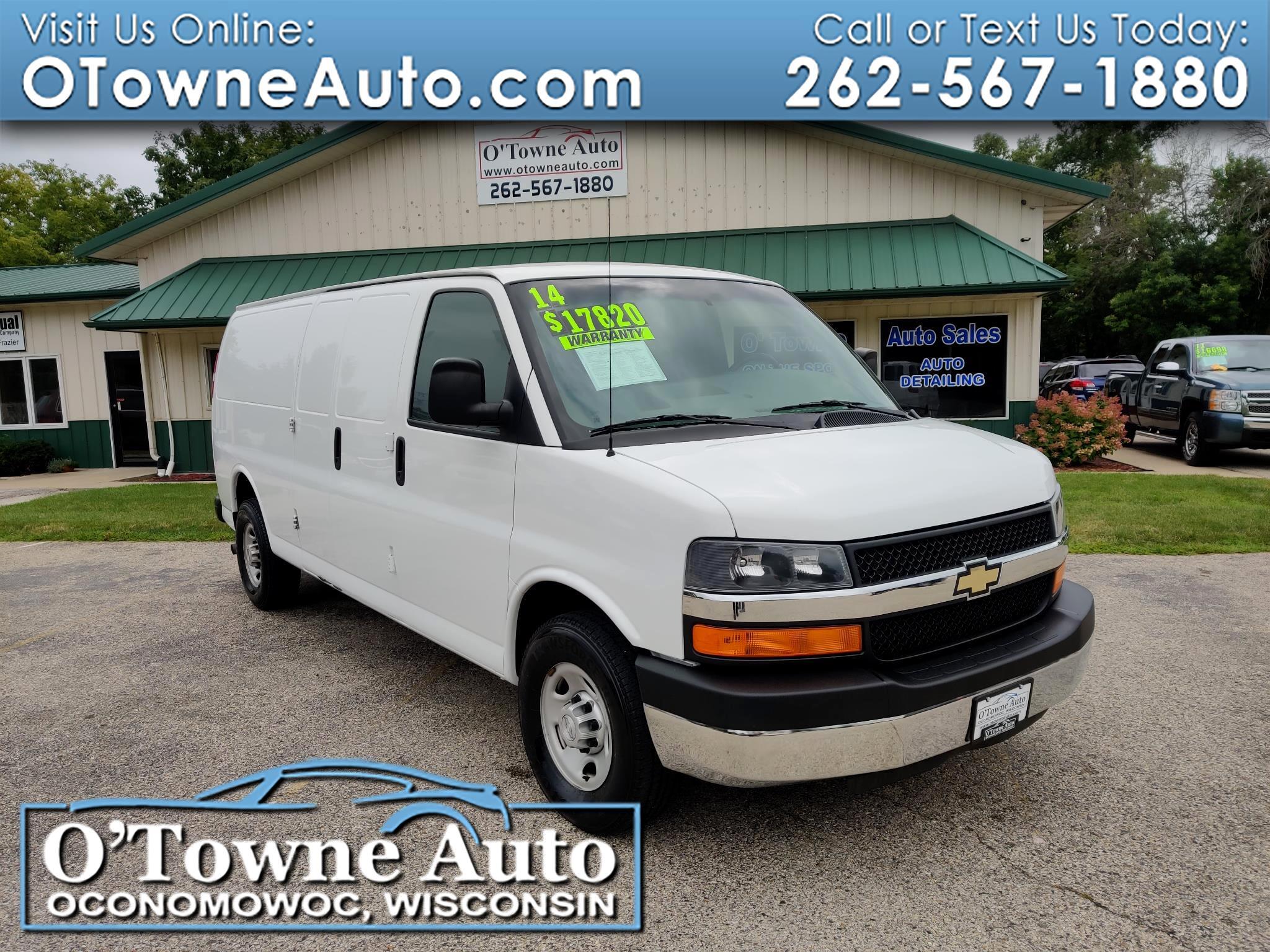 """2014 Chevrolet Express Cargo Van RWD 2500 155"""""""