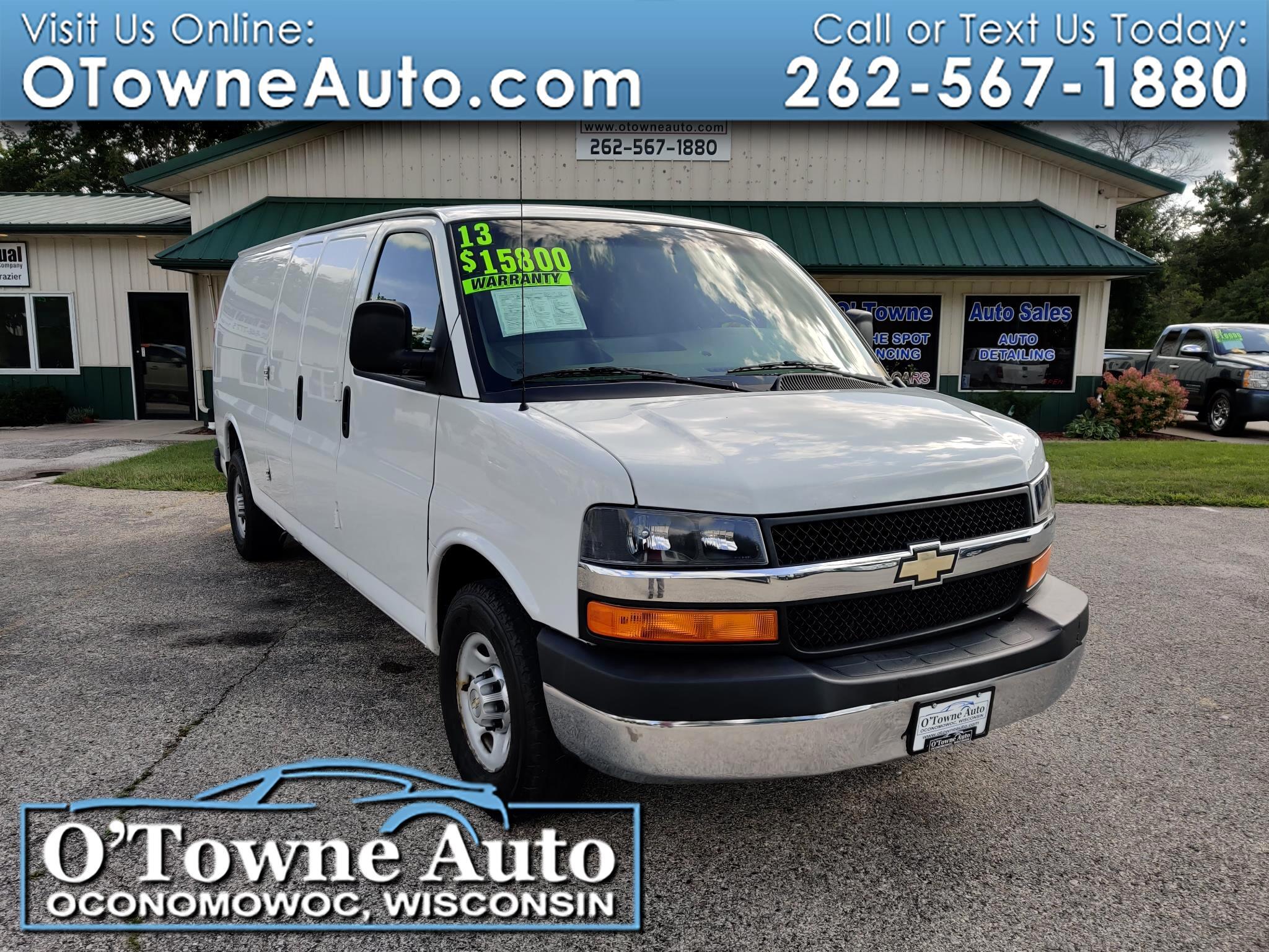 """2013 Chevrolet Express Cargo Van RWD 2500 155"""""""