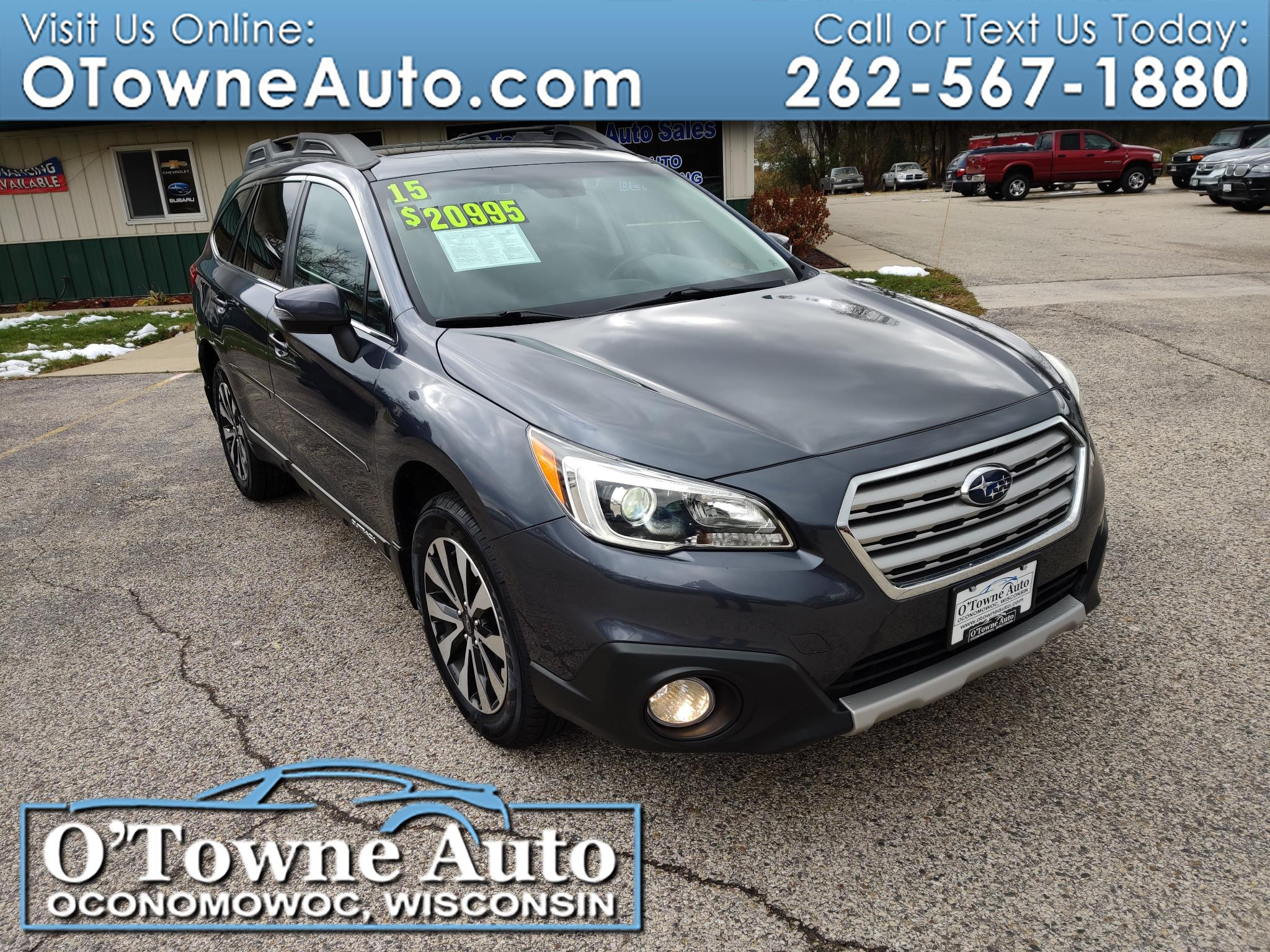 Subaru Outback 4dr Wgn 3.6R Limited 2015