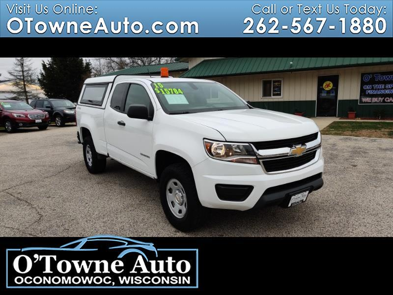 "Chevrolet Colorado 4WD Ext Cab 128.3"" WT 2015"