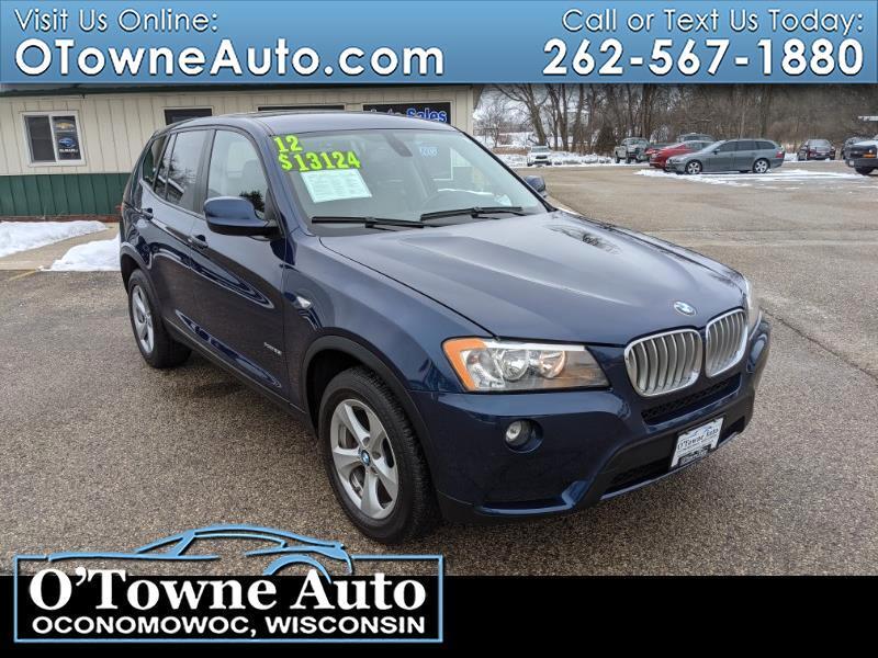 BMW X3 AWD 4dr 28i 2012