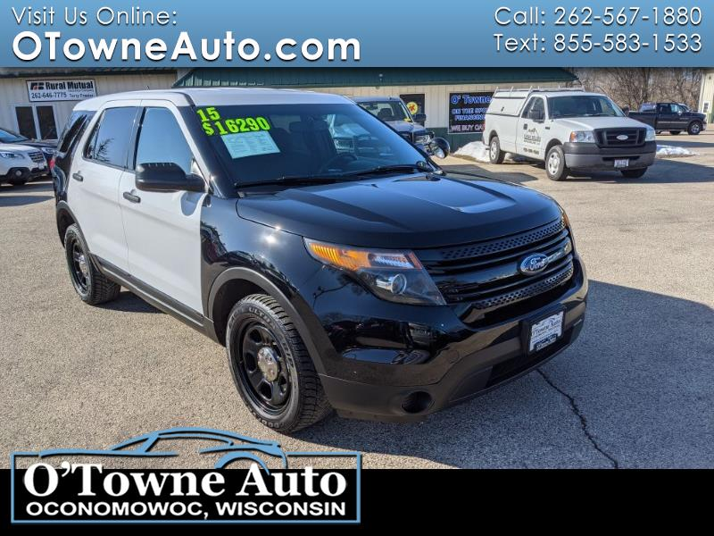 Ford Police Interceptor Utility AWD 2015