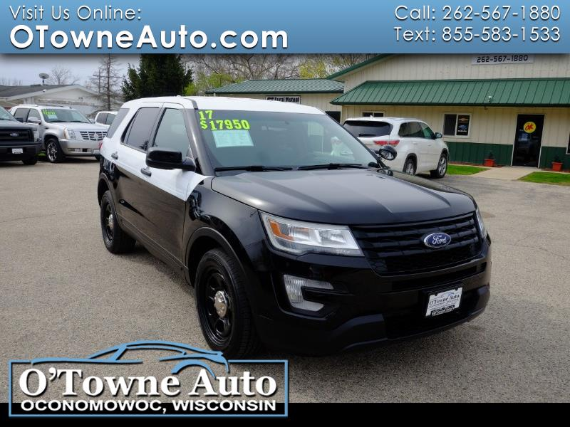 Ford Police Interceptor Utility AWD 2017