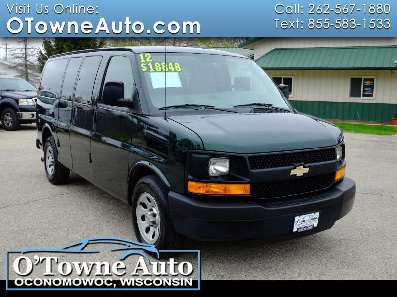 "Chevrolet Express Passenger RWD 1500 135"" 1LS 2012"