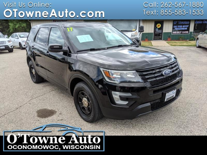 Ford Police Interceptor Utility AWD 2017