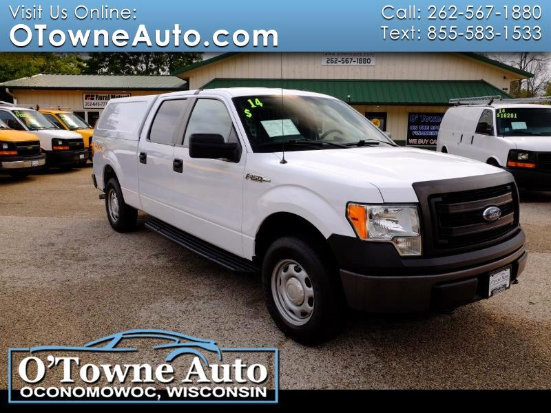 """Ford F-150 4WD SuperCrew 157"""" XL w/HD Payload Pkg 2014"""