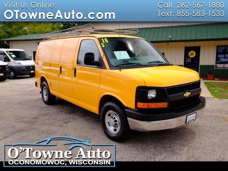 """Chevrolet Express Cargo Van RWD 3500 135"""" 2016"""
