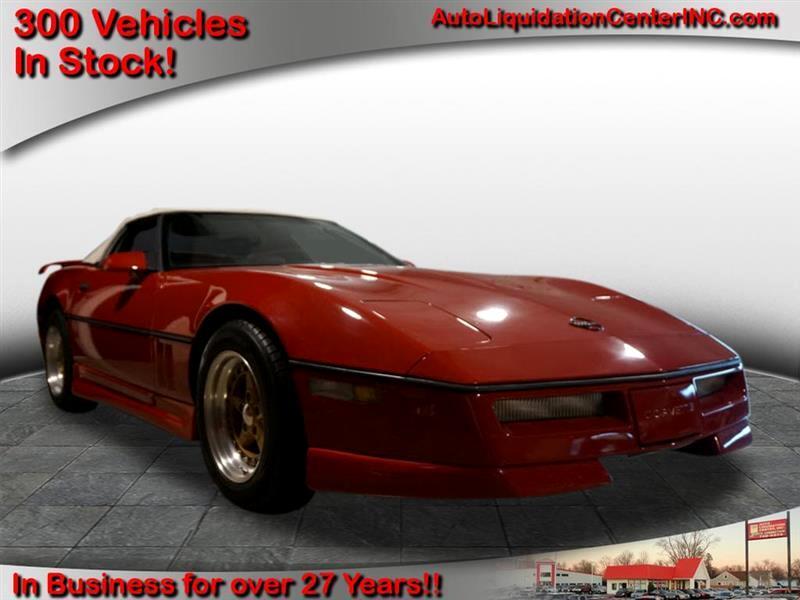 Chevrolet Corvette Convertible 1986