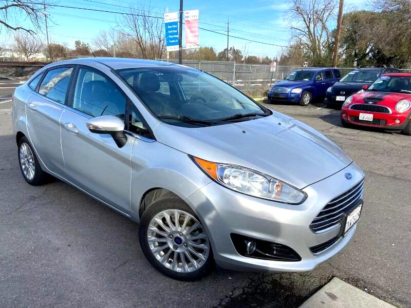 Ford Fiesta Titanium Sedan 2014