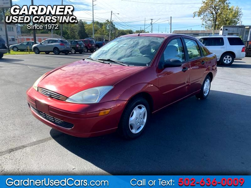 2000 Ford Focus 4dr Sdn ZTS