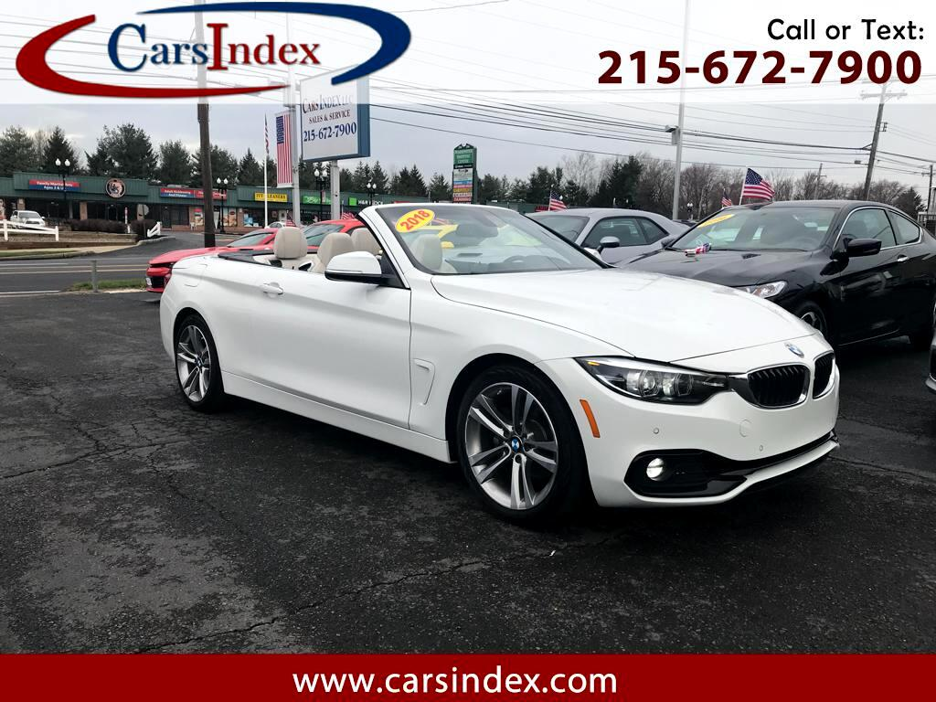 2018 BMW 4 Series 2DR CONV 430I
