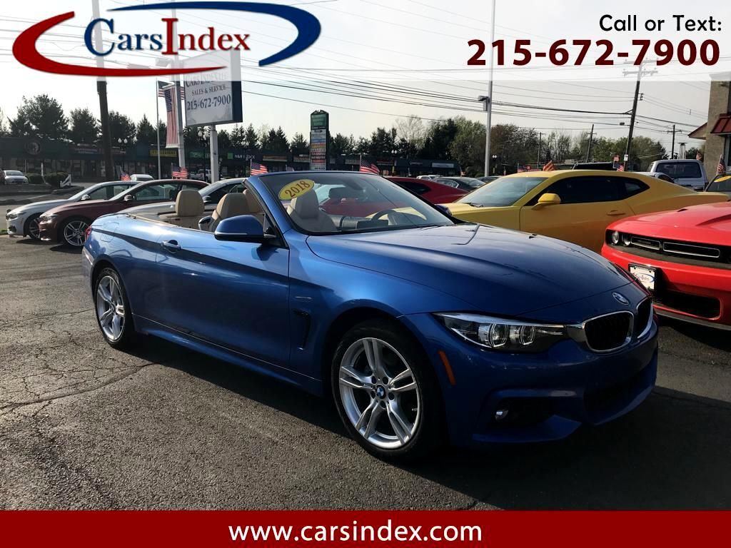 2018 BMW 4 Series 430i xDrive Convertible,M-SPORT , NAVIGATION
