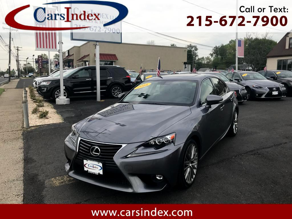 2015 Lexus IS 250 4dr Sport Sdn AWD Auto