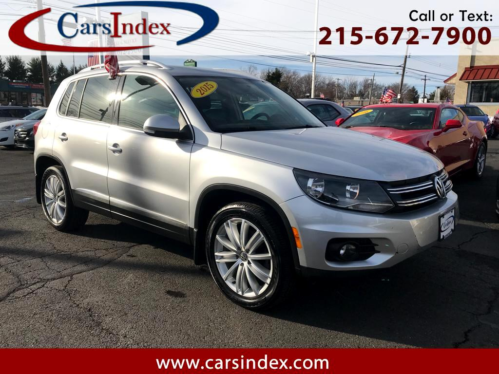 2015 Volkswagen Tiguan 4dr Auto SEl w/Appearance panoramic sunroof