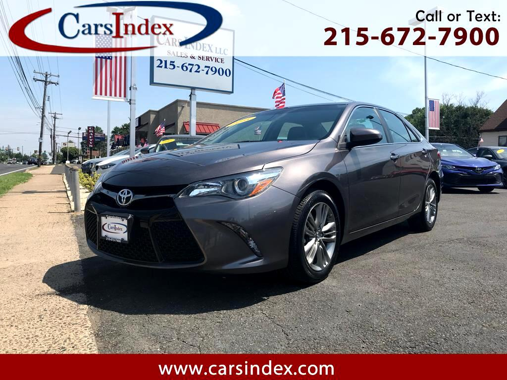 2015 Toyota Camry 4DR SDN SE, AUTO ,SUNROOF,NAVIGATION.