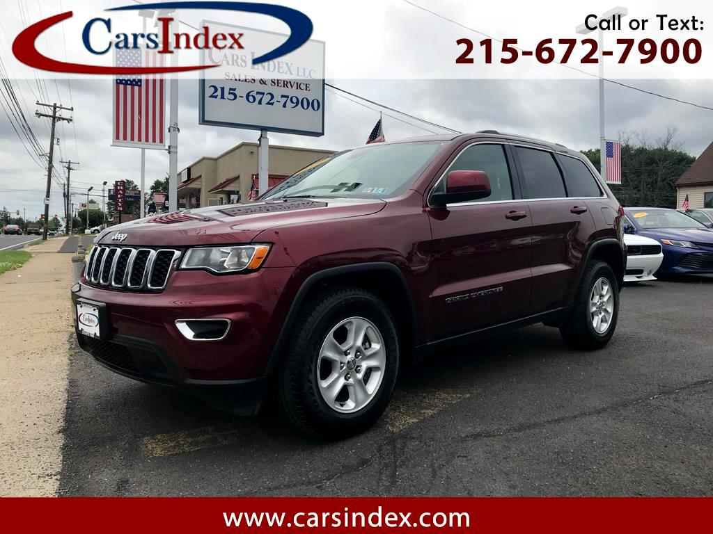 2017 Jeep Grand Cherokee 4dr Laredo