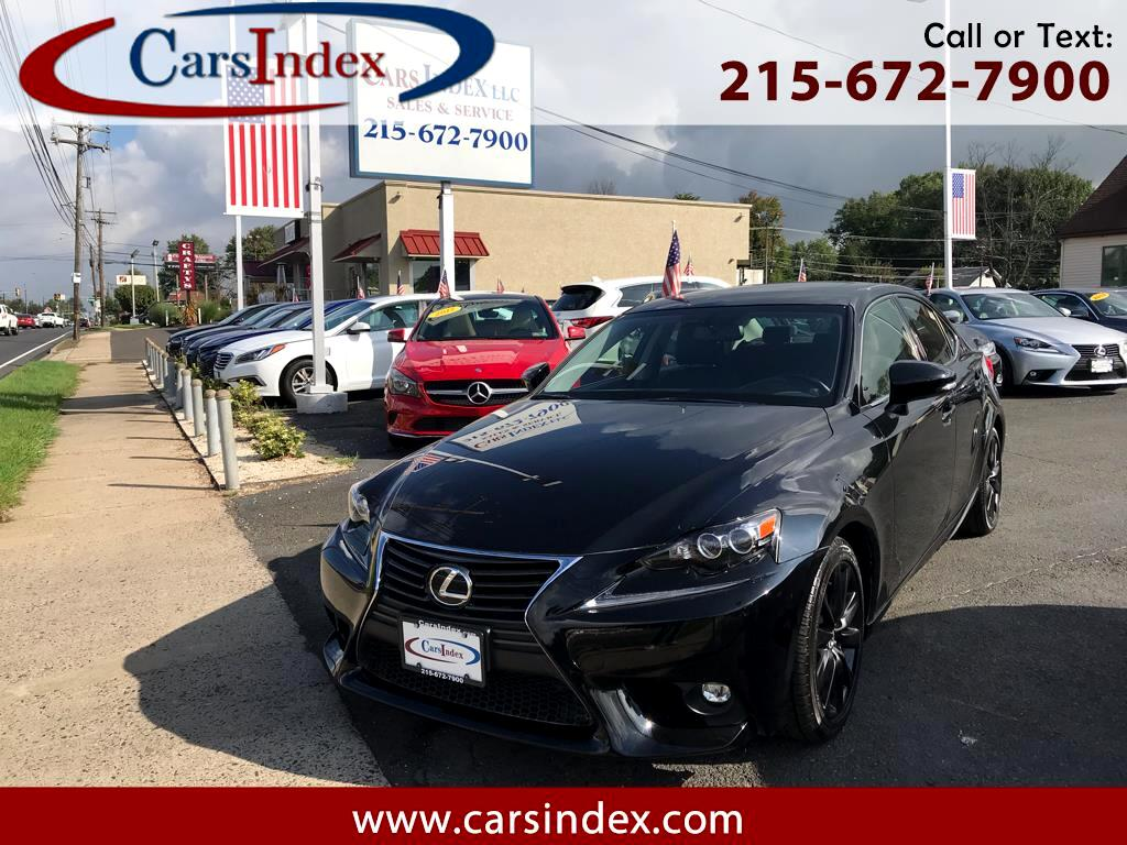 2016 Lexus IS 300 4dr Sport Sdn Auto