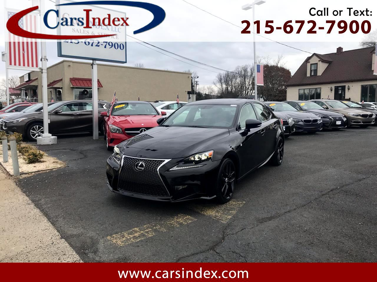 2015 Lexus IS 250 4dr Sport Sdn Crafted Line AWD