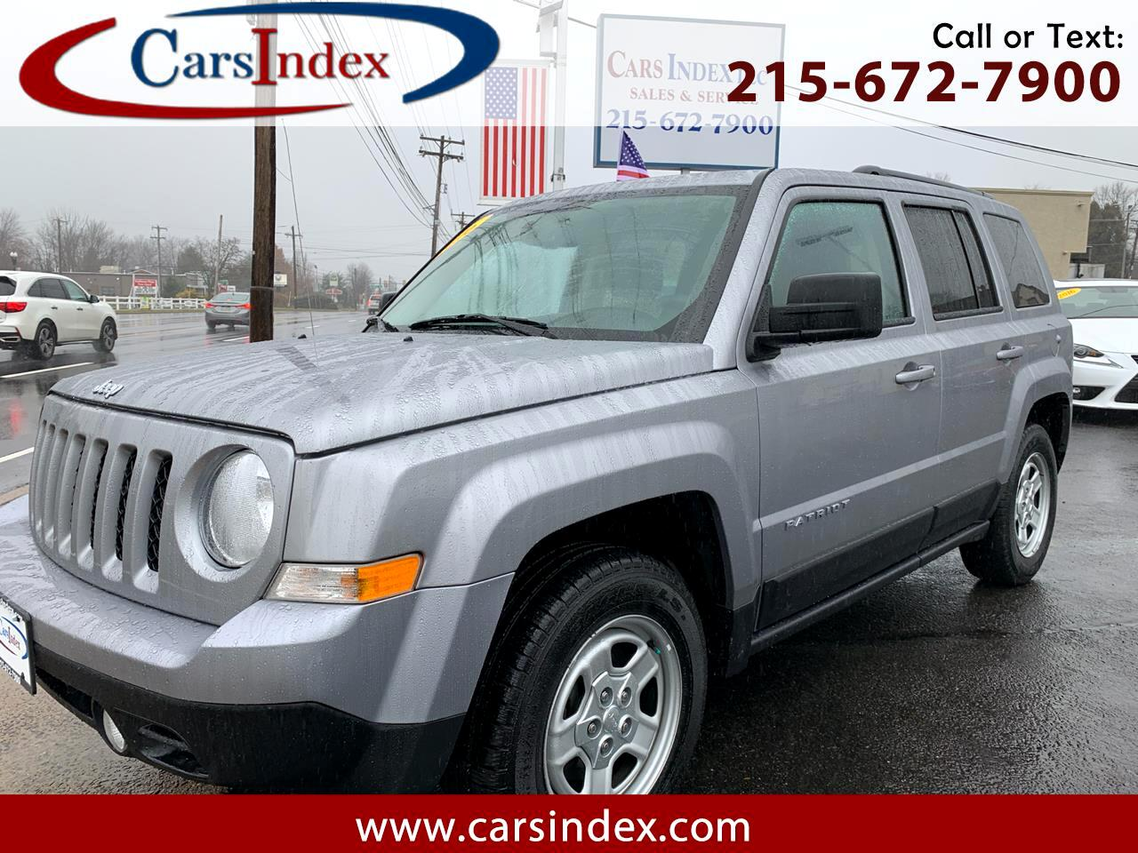 2016 Jeep Patriot 4dr Sport