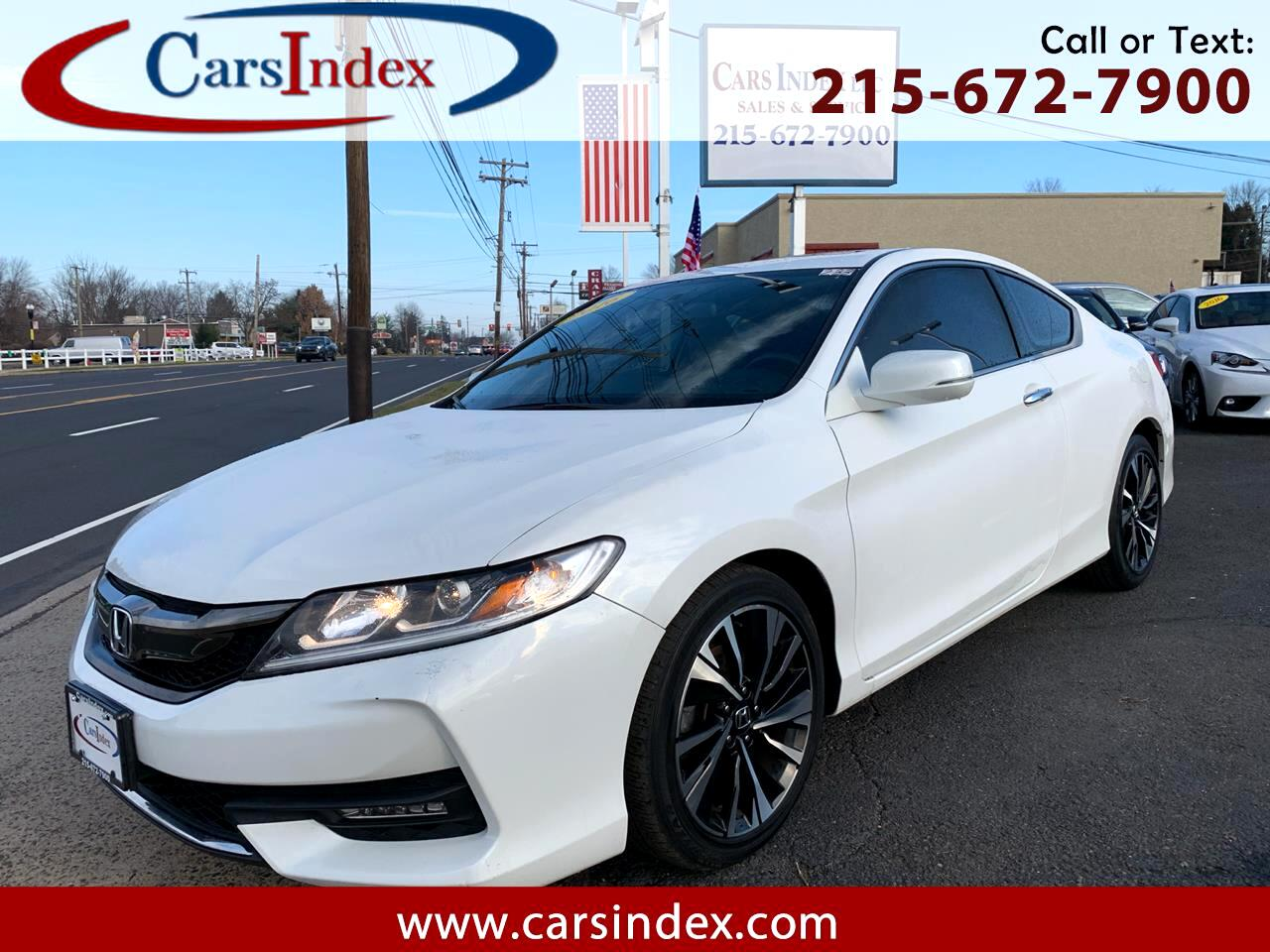 2016 Honda Accord Coupe 2dr I4 CVT EX