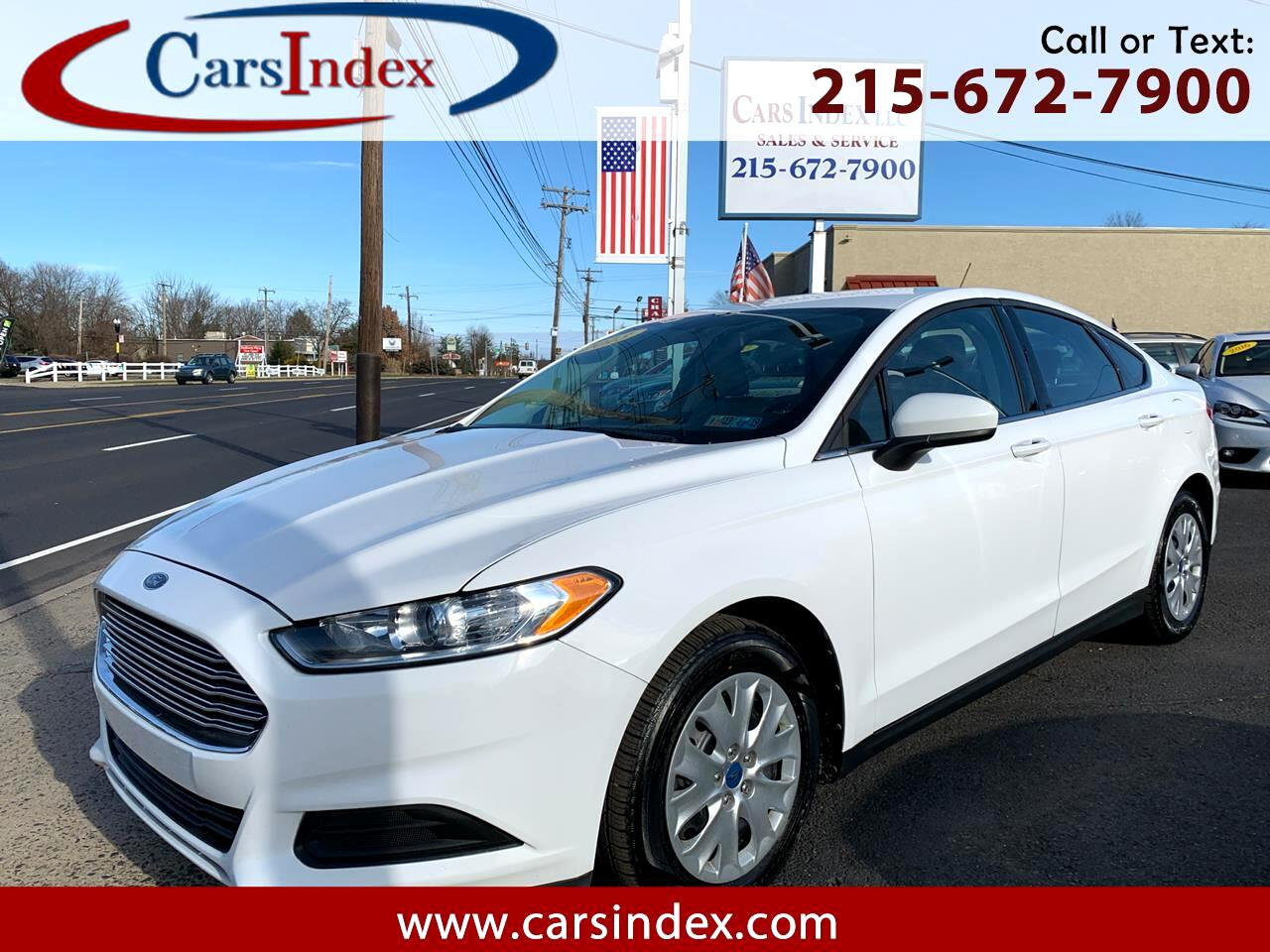 2013 Ford Fusion 4dr Sdn S FWD