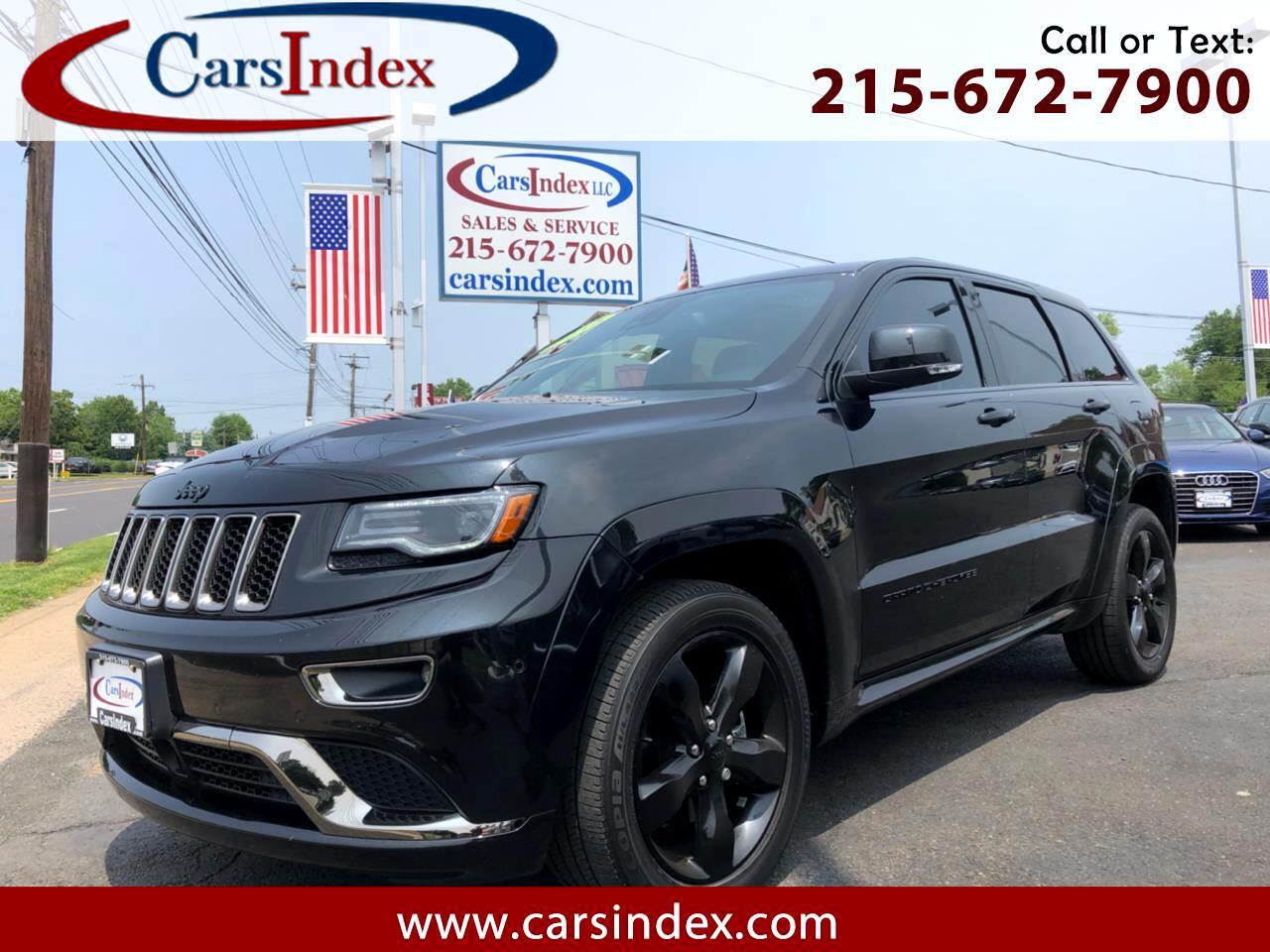 2016 Jeep Grand Cherokee Overland 4x4