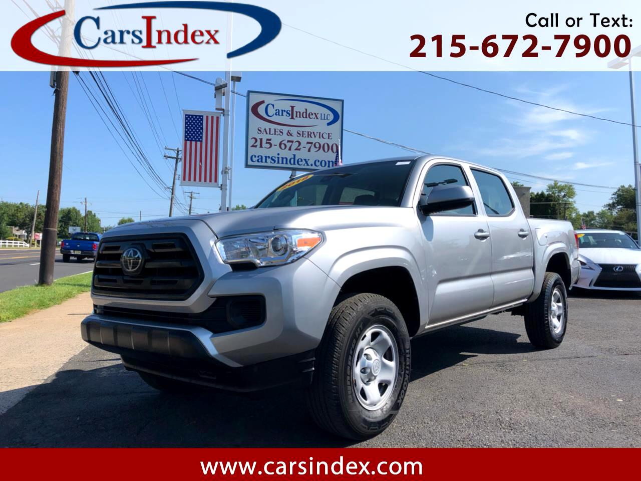 2018 Toyota Tacoma SR5 Double Cab 5' Bed I4 4x2 AT (Natl)