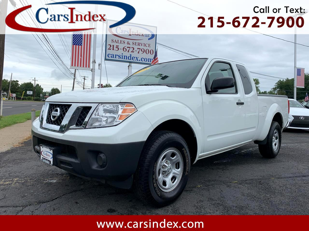 2015 Nissan Frontier 2WD King Cab I4 Manual S