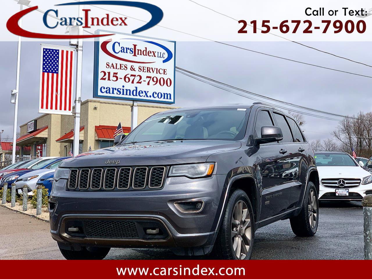 Jeep Grand Cherokee 4WD 4dr Limited 75th Anniversary 2016